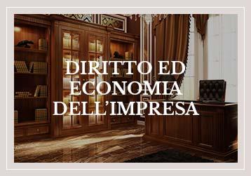 Diritto ed economia dell'impresa